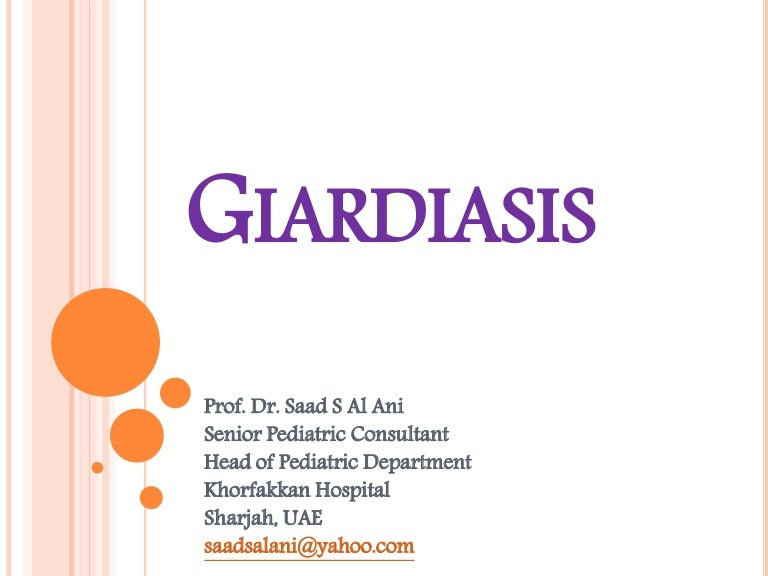 Giardia treatment guidelines. GL3: Control of Ectoparasites in Dogs and Cats